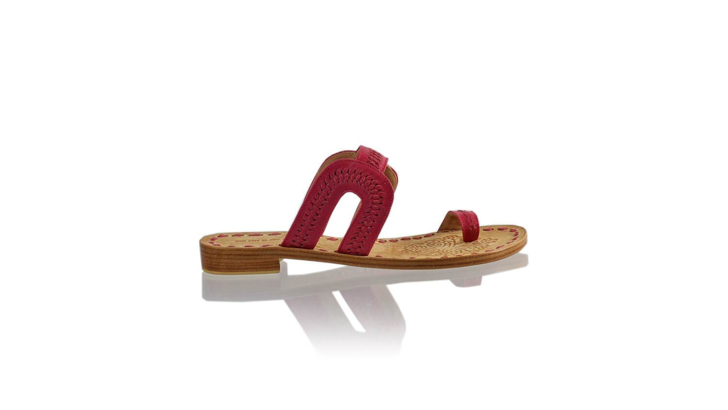 Leather-shoes-Andy 20mm Flat - Fuschia-sandals flat-NILUH DJELANTIK-NILUH DJELANTIK