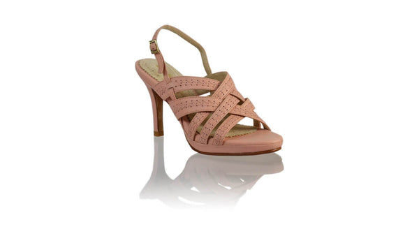 Leather-shoes-Ellok PF 90MM SH-01 - Soft Pink-High Heels-NILUH DJELANTIK-NILUH DJELANTIK