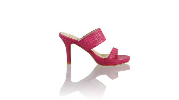 Leather-shoes-Maria 90MM SH-01 PF - Fuschia-sandals higheel-NILUH DJELANTIK-NILUH DJELANTIK