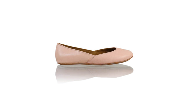 Leather-shoes-Punjab 5mm Ballet - Soft Pink-flats ballet-NILUH DJELANTIK-NILUH DJELANTIK