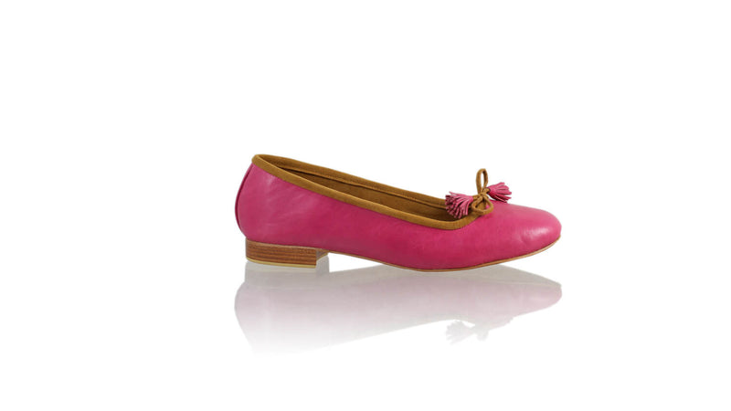 Leather-shoes-Noemi 20mm Ballet - Fuschia-flats ballet-NILUH DJELANTIK-NILUH DJELANTIK