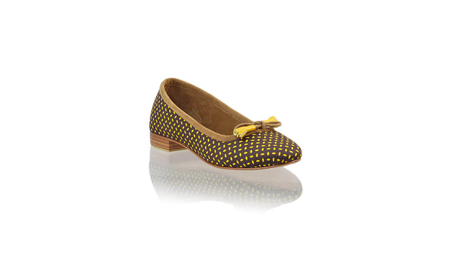 Leather-shoes-Noemi 20mm Ballet - Brown Yellow Seed-flats ballet-NILUH DJELANTIK-NILUH DJELANTIK