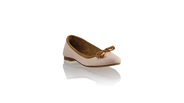 Leather-shoes-Noemi 20mm Ballet - Soft Pink Linen-flats ballet-NILUH DJELANTIK-NILUH DJELANTIK