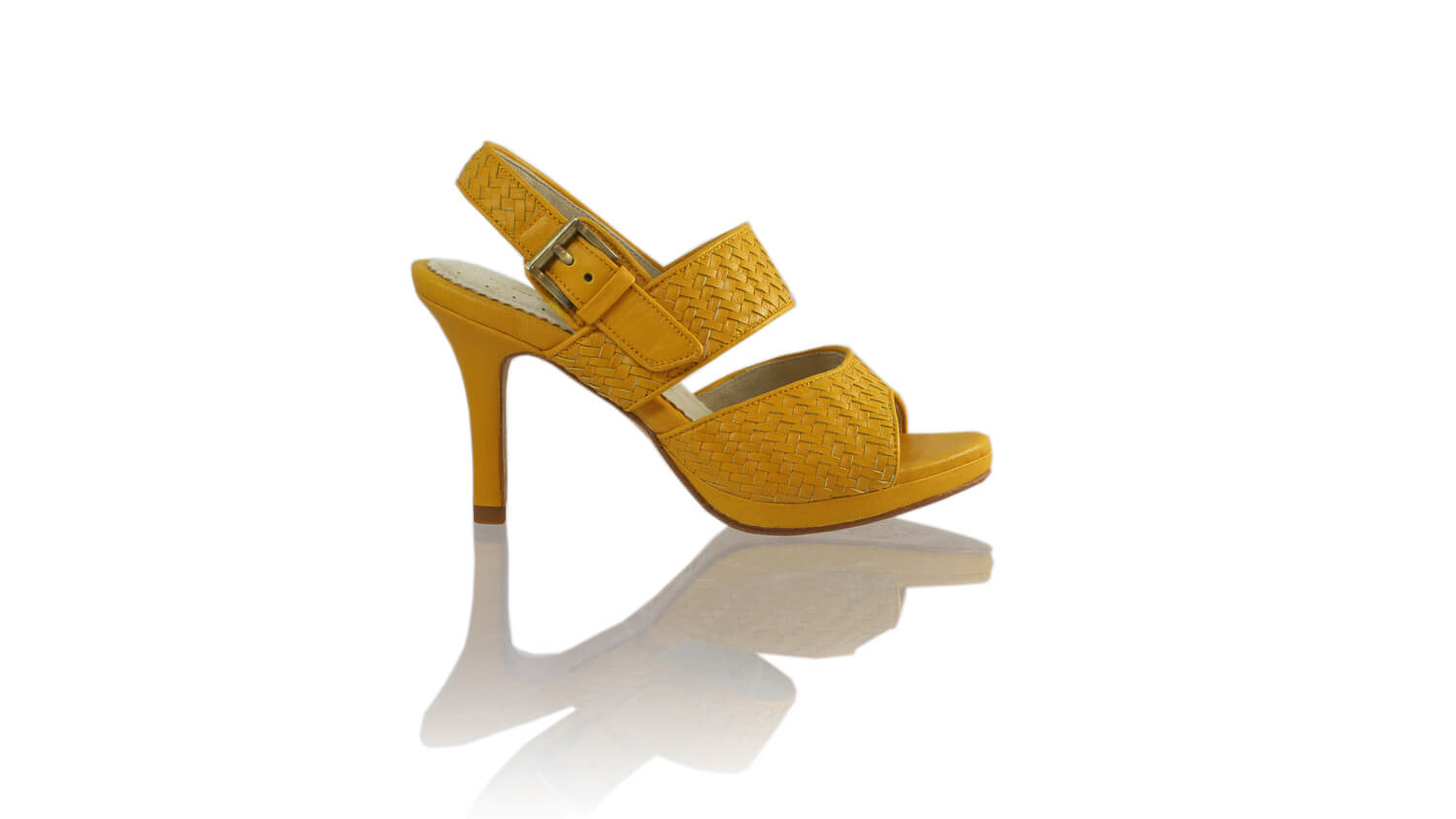 Leather-shoes-Danny PF 90MM SH-01 - Yellow-sandals higheel-NILUH DJELANTIK-NILUH DJELANTIK