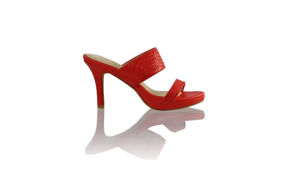 Leather-shoes-Maria 90MM SH-01 PF - Red-sandals higheel-NILUH DJELANTIK-NILUH DJELANTIK