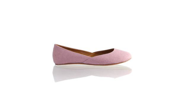 Leather-shoes-Punjab 5mm Ballet - Purple Linen-flats ballet-NILUH DJELANTIK-NILUH DJELANTIK
