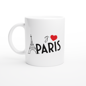 I Love Paris 11oz Coffee Mug