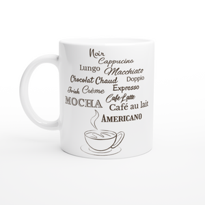 Coffee Lover 11oz White Coffee Mug