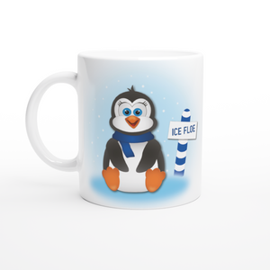 Winter Penguin 11oz Coffee Mug