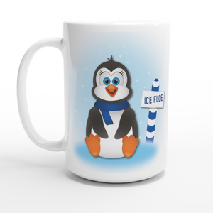 Winter Penguin 15oz Coffee Mug