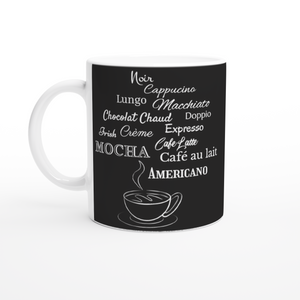 Coffee Lover 11oz Black Coffee Mug
