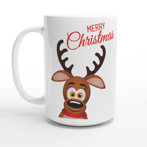 Christmas Reindeer Coffee Mug
