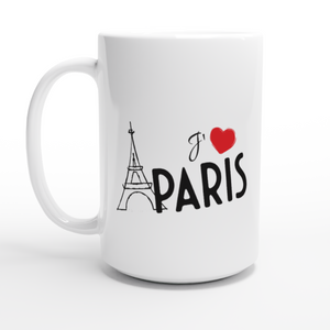 I Love Paris 15oz Coffee Mug