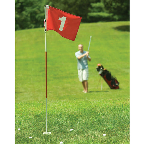 BACK YARD FLAG STICK (1ST HOLE)