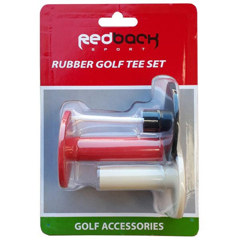 Rubber Golf Tees (Set of 3)