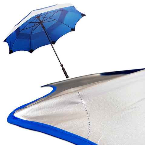 "62"" TIPLESS SOLAR Telescopic Anti-Flip Umbrellas"