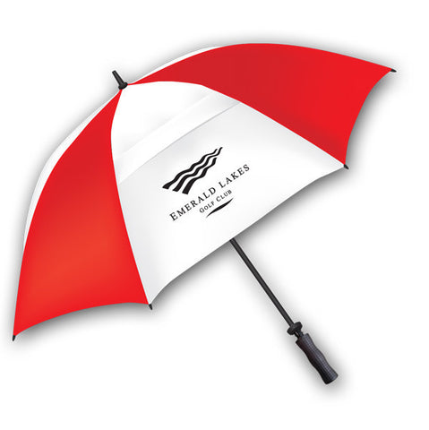 "WindGuster 62"" Manual Open Telescopic Umbrella"
