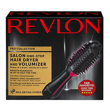Load image into Gallery viewer, Revlon One-Step Hair Dryer And Volumizer Hot Air Brush, Black