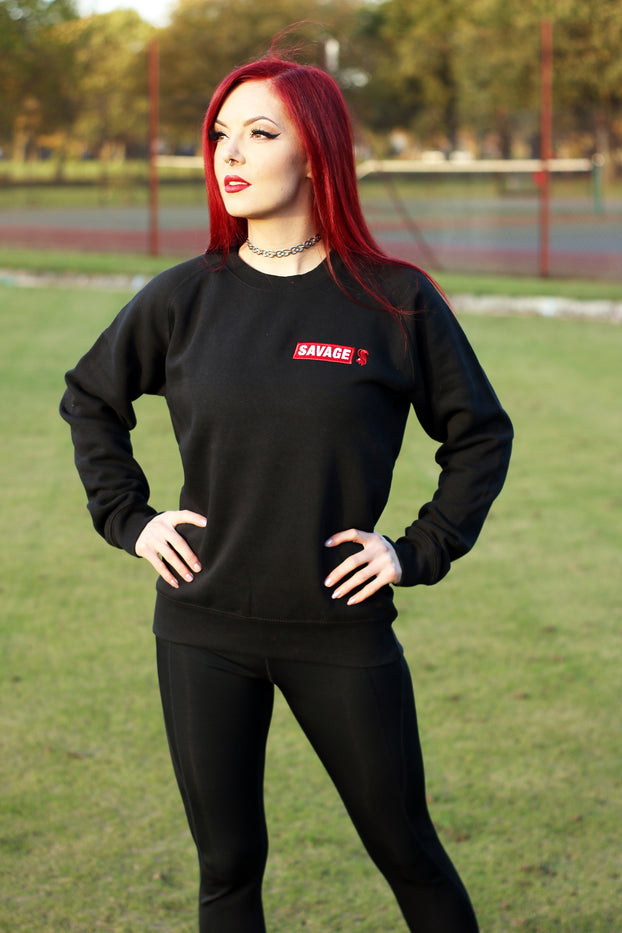 Black Savage Heavyweight Sweatshirt