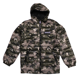 Camo Padded winter Jacket