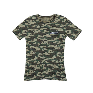Savage Squirrel Jungle Camo T-Shirt