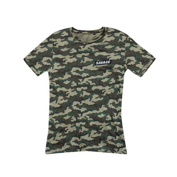 Savage Squirrel Camo T-Shirt