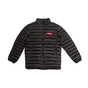Savage Black Puffer Jacket
