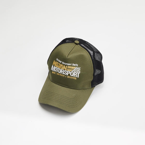 MIssion Motorsport Baseball cap Olive Green