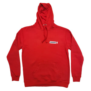 Savage Squirrel Active Red Hoodie