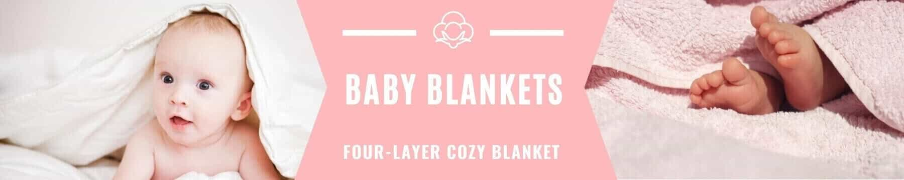 Banner Baby Blankets Collection - Roll Up Baby