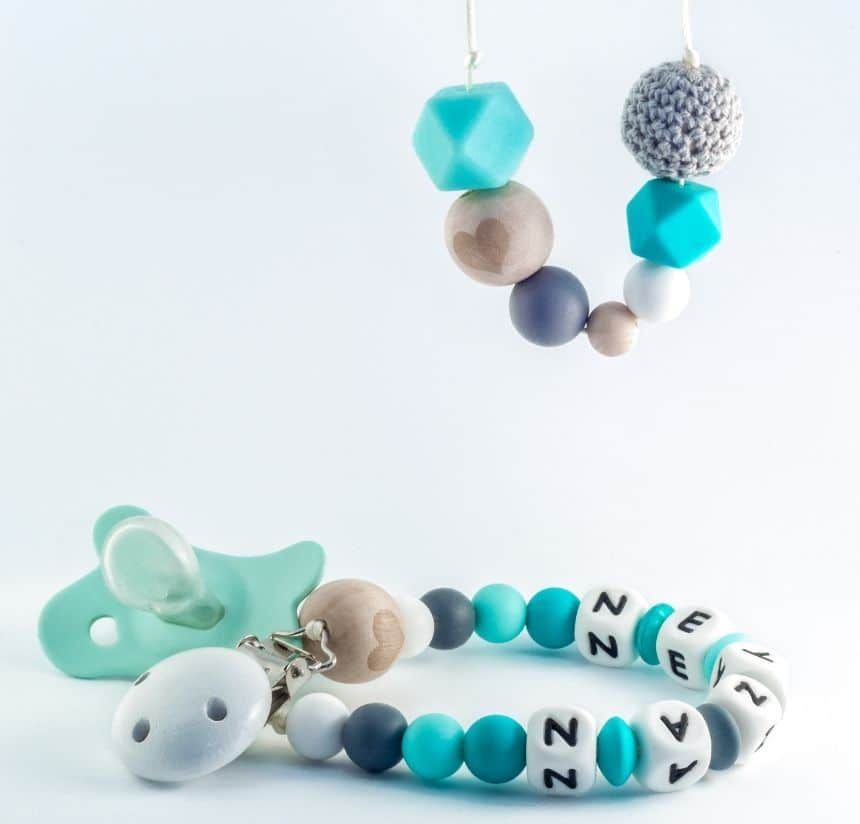 Pacifier Clips collection - Roll Up Baby
