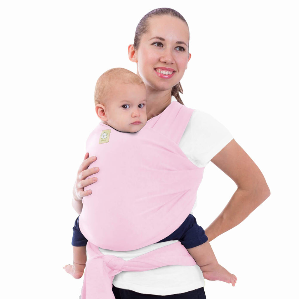 Baby Wrap Carrier - Sweet Pink - Roll Up Baby