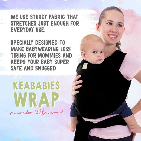 Baby Wrap Carrier - Roll Up Baby