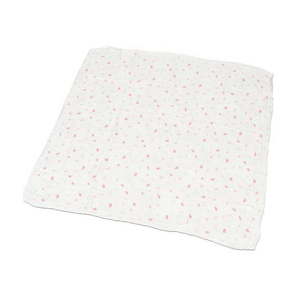 Baby Bamboo Blanket - Cherry Blossom - Roll Up Baby
