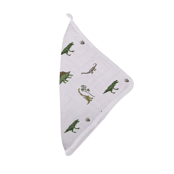 Cotton Washcloth Set - Dino Days - Roll Up Baby