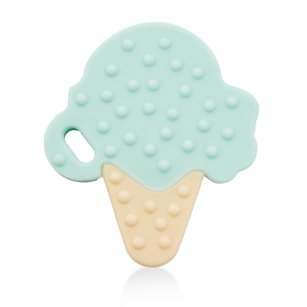 Cream Teether - Mint - Roll Up Baby