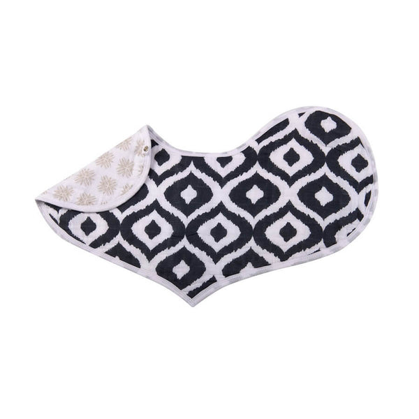 Cute Heart Bibs Set of 2 - World Wanderer - Roll Up Baby