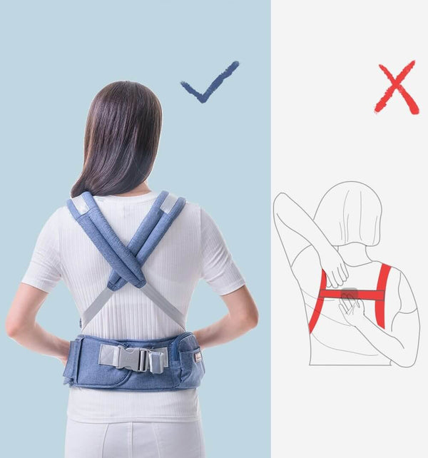 Ergonomic Baby Hip Seat Baby Carrier - Roll Up Baby