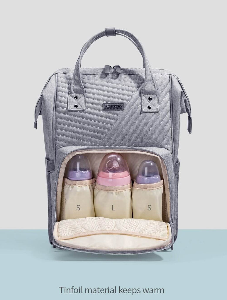Fashion Diaper Baby Bag Backpack - Roll Up Baby