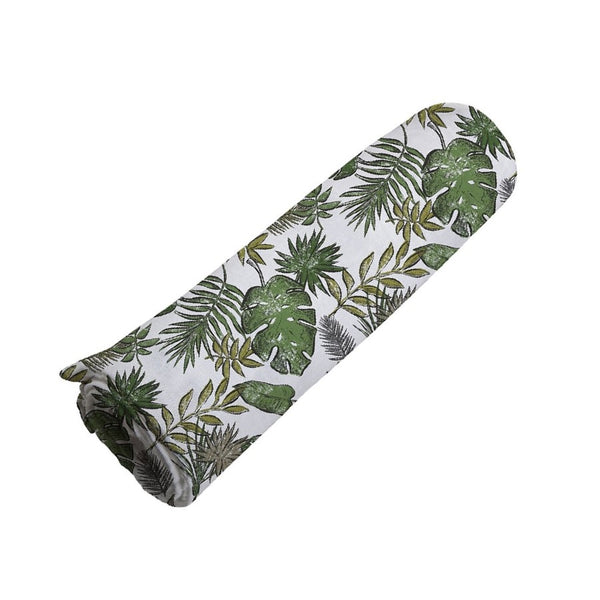 Muslin Swaddle Blanket - Jurassic Forest - Roll Up Baby