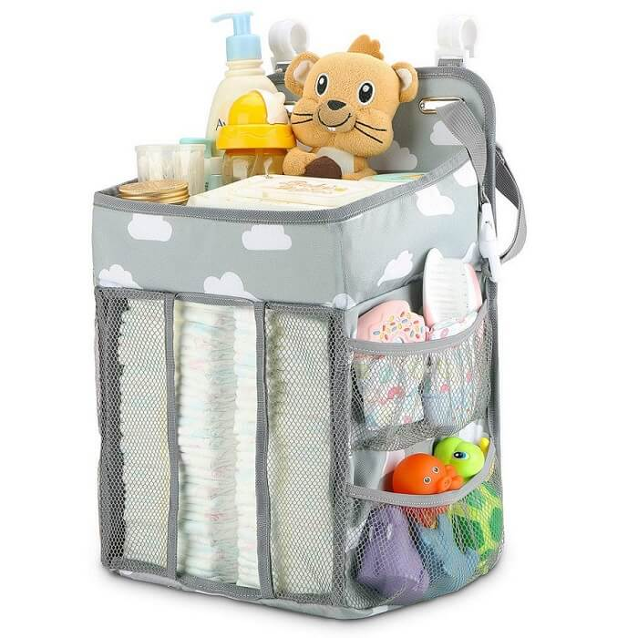 New Baby Newborn Hanging Diaper Caddy Organizer - Roll Up Baby