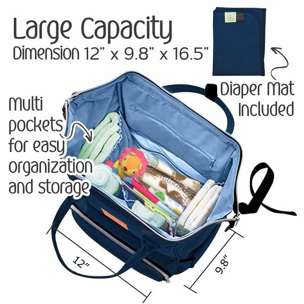 Original Diaper Bag Backpack - Roll Up Baby