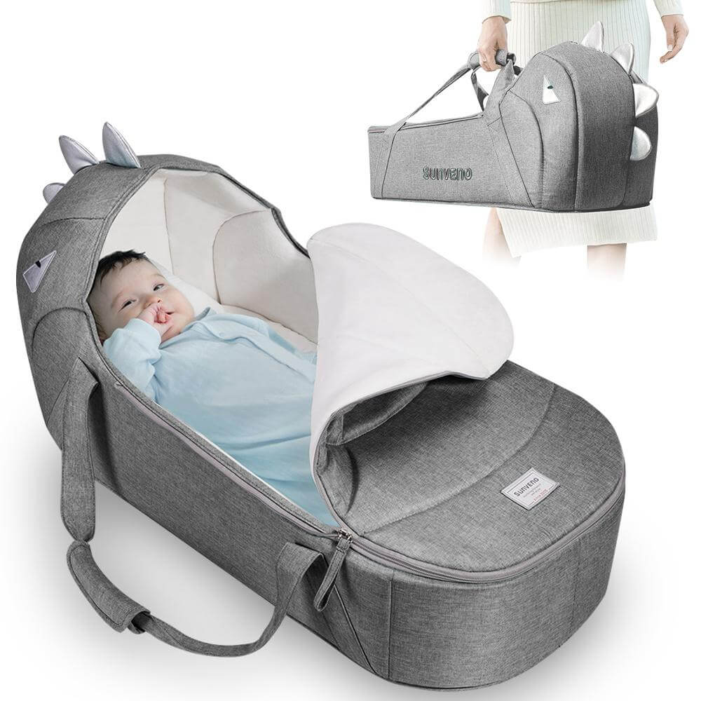 Portable Travel Bed Bag for Baby 0-6M - Roll Up Baby