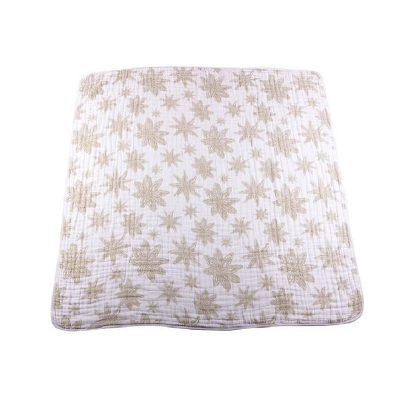 Cotton Muslin Blanket - Star Anise - Roll Up Baby