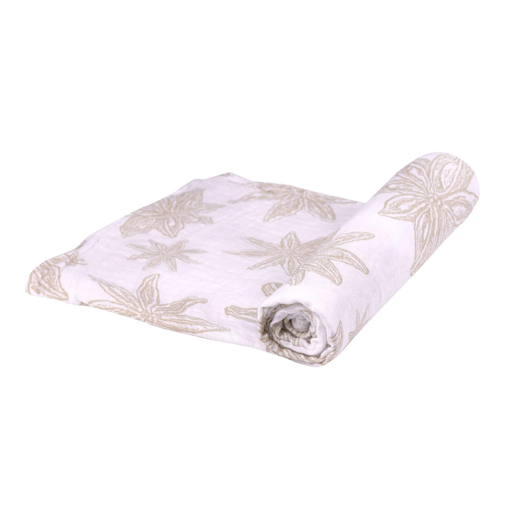 Newborn Baby Swaddle - Star Anise - Roll Up Baby