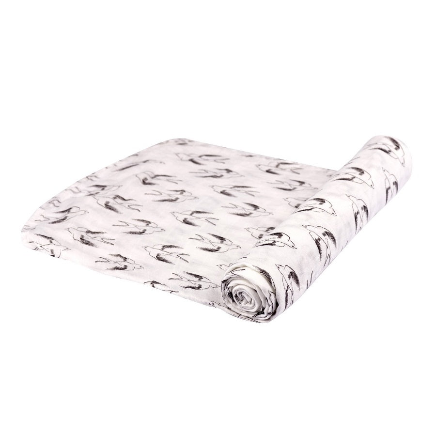 Swaddle Wrap - Sparrows - Roll Up Baby