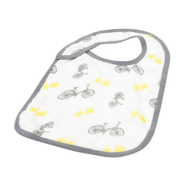 Baby Snap Bibs Set of 3 - Traveler - Roll Up Baby