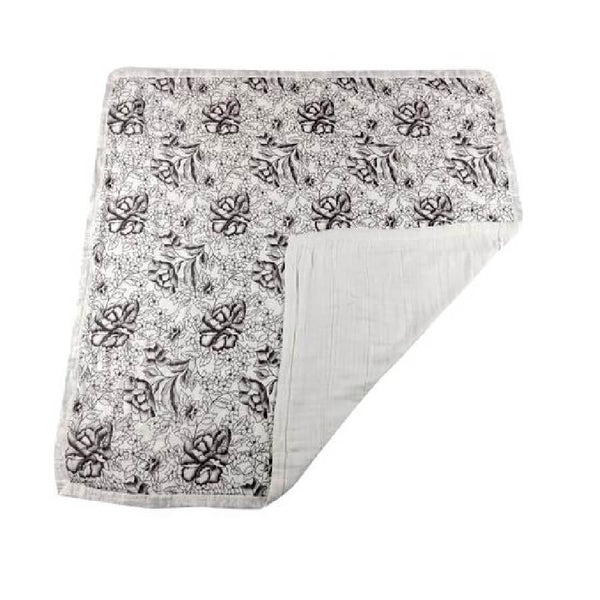 Baby Bamboo Blanket - American Rose & White - Roll Up Baby