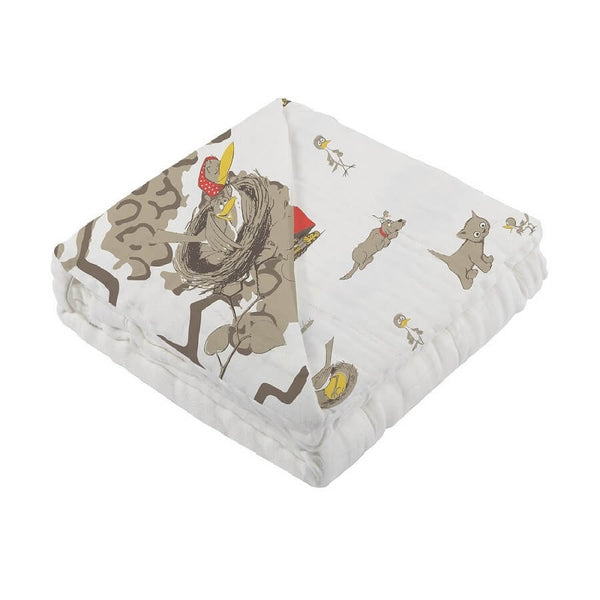 Baby Bamboo Blanket - Are You My Mother? - Roll Up Baby
