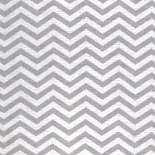 Baby Changing Pad Cover - Gray Chevron Flannel  - Roll Up Baby